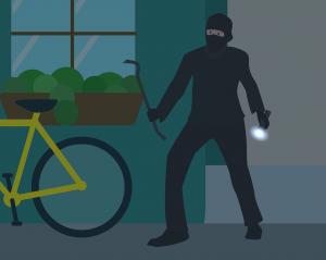 Burglary, Robbery, Theft in California