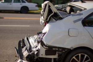 Ramona, CA - 2 Hospitalized After Car Strikes Pole On Warnock Dr