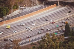 San Diego, CA - Multi-Vehicle Crash at I-805 & I-8