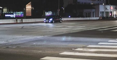 San Diego, CA - Pedestrian Seriously Injured on Grand Ave